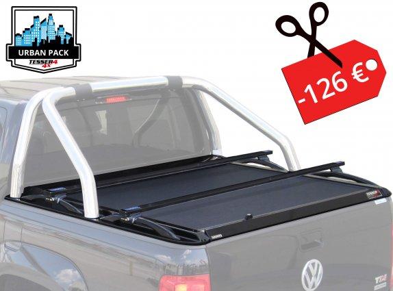 VW Amarok (VW's Ø76 OEM roll bar) |URBAN PACK|